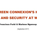 GREEN CONNEXION'S HEALTH AND SECURITY AT WORK